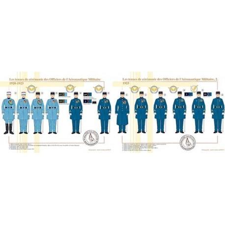 Les tenues de cérémonie des Officiers de l'Aéronautique Militaire, 1920-1923