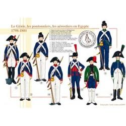 Le Génie, les pontonniers, les aérostiers en Egypte, 1798-1801