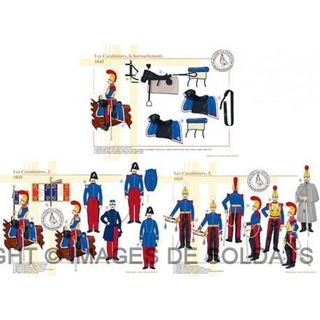 Les Carabiniers, 1845