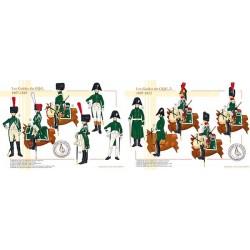Les Guides du GQG, 1807-1812