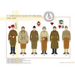 L'Artillerie de l'Armée de Libération, 1941-1945