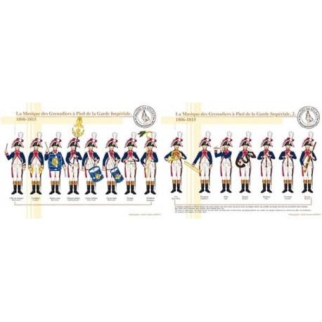 La Musique des Grenadiers à Pied de la Garde Impériale, 1806-1815