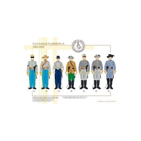 La Cavalerie Confédérée (4), 1861-1865
