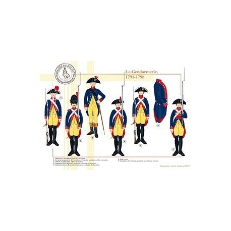 La Gendarmerie, 1791-1798