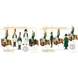 Les Officiers des Dragons de la Garde Impériale, 1806-1815