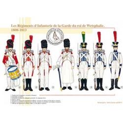 Les Régiments d'Infanterie de la Garde du roi de Westphalie, 1808-1813