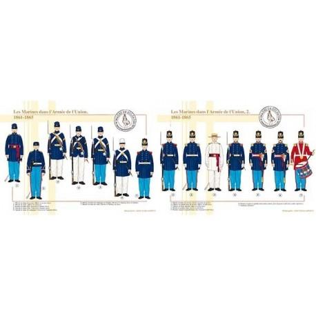 Les Marines dans l'Armée de l'Union, 1861-1865