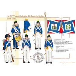 La 21ème demi-brigade d'infanterie légère en Egypte, 1798-1801