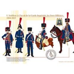 L'Artilleur à Cheval de la Garde Impériale, les Sous-Officiers, 1804-1815