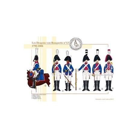 Les Dragons von Rouquette n°13, 1790-1806