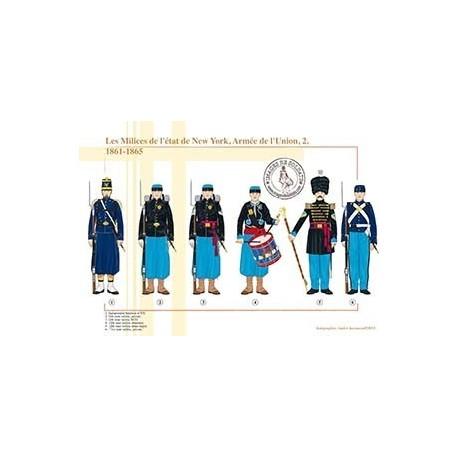 Les Milices de l'état de New York, Armée de l'Union (2), 1861-1865