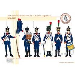 Les Conscrits-Chasseurs de la Garde Impériale, 1808-1810