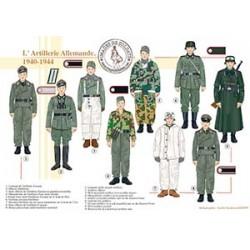 L'Artillerie Allemande, 1940-1944