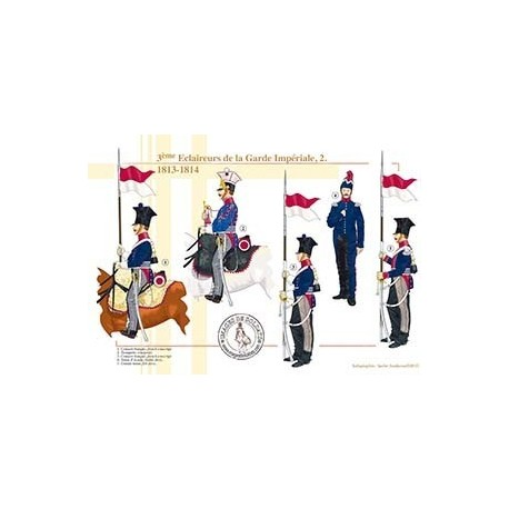 3ème Éclaireurs de la Garde Impériale (2), 1813-1814