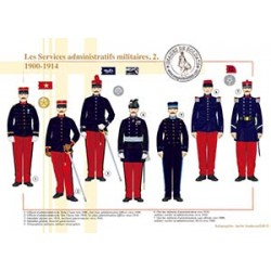 Les Services administratifs militaires (2), 1900-1914