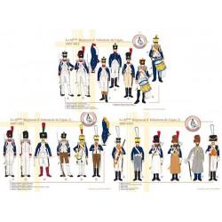Le 65ème Régiment d'Infanterie de Ligne, 1807-1812