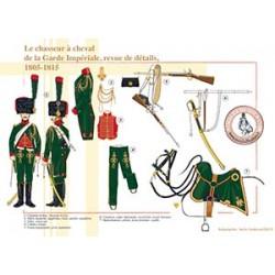 Le chasseur à cheval de la Garde Impériale, revue de détails, 1805-1815