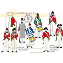 La 9ème demi-brigade d'infanterie de ligne en Egypte, 1798-1801