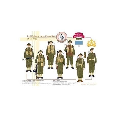 Le Régiment de la Chaudière, 1944-1945