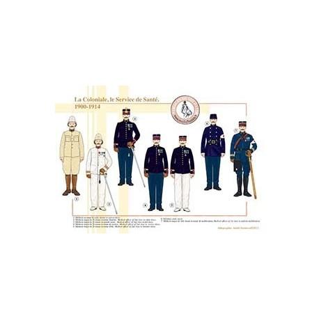 La Coloniale, le Service de Santé, 1900-1914