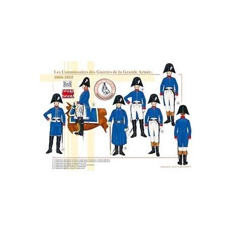 Les Commissaires des Guerres de la Grande Armée, 1804-1815