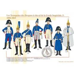 Les Trompettes des Dragons à cheval de la Garde Impériale (3), 1806-1815