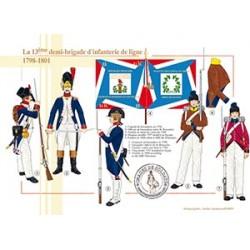 La 13ème demi-brigade d'infanterie de ligne en Egypte, 1798-1801