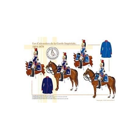 Les Cuirassiers de la Garde Impériale, 1854-1870