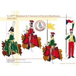 Le 30ème Régiment de Chasseurs à Cheval à Hambourg, 1810-1812