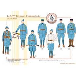 Le 94ème Régiment d'Infanterie (2), 1920-1935