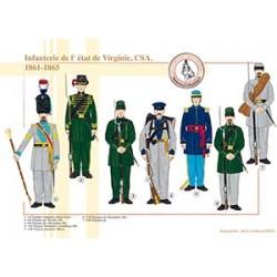 Infanterie de l'état de Virginie, CSA, 1861-1865