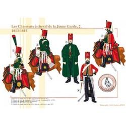 Les Chasseurs à cheval de la Jeune Garde (2), 1813-1815
