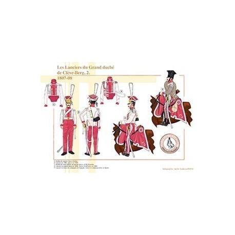 Les Lanciers du Grand Duché de Clève-Berg (2), 1807-1808