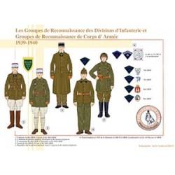 Les Groupes de Reconnaissance des Divisions d'Infanterie et Groupes de Reconnaissance de Corps d'Armée, 1939-1940