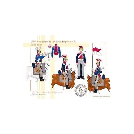 3ème Eclaireurs de la Garde Impériale (3), 1813-1814