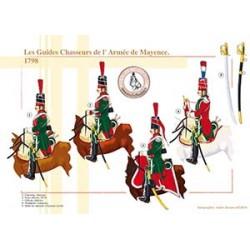 Les Guides Chasseurs de l'Armée de Mayence, 1798
