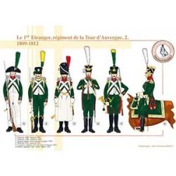 Le 1er Etranger, régiment de la Tour d'Auvergne (2), 1809-1812