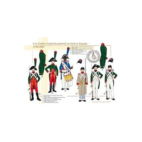Les Guides à pied du général en chef en Egypte, 1798-1801