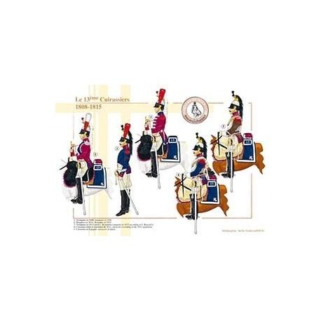 Le 13ème Cuirassiers, 1808-1815