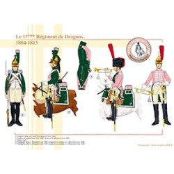 Le 17ème Régiment de Dragons, 1804-1813