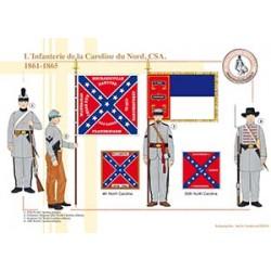 L'Infanterie de la Caroline du Nord, CSA, 1861-1865