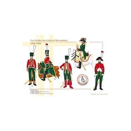 Les Guides du Général Bernadotte, 1804-1806
