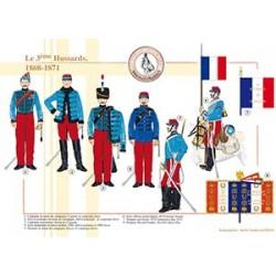 Le 3ème Hussards, 1868-1871