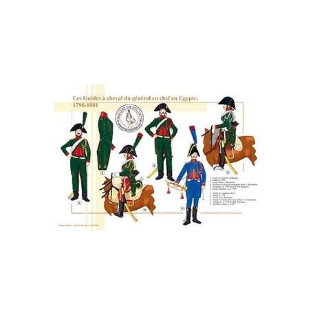 Les Guides à cheval du général en chef en Egypte, 1798-1801