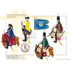 Chamborant Hussards, 1750-1779
