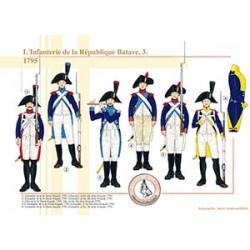 L'Infanterie de la République Batave (3), 1795