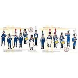 10ème Régiment d'Infanterie Légère, 1807-1812