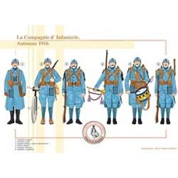 La Compagnie d'Infanterie, Automne 1916