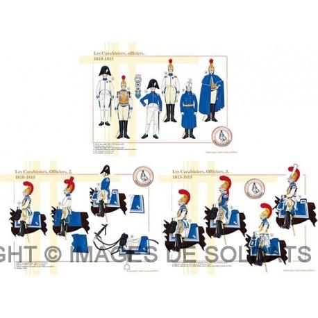 Les Carabiniers, Officiers, 1810-1815