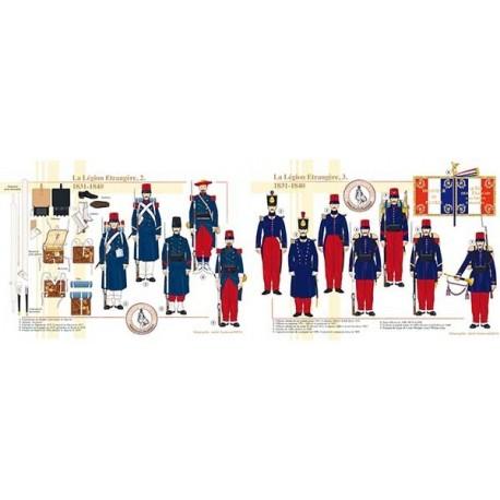 La Légion Etrangère (2 et 3), 1831-1840